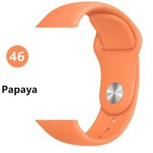 NEW Papaya Sport Silicone For Apple Watch